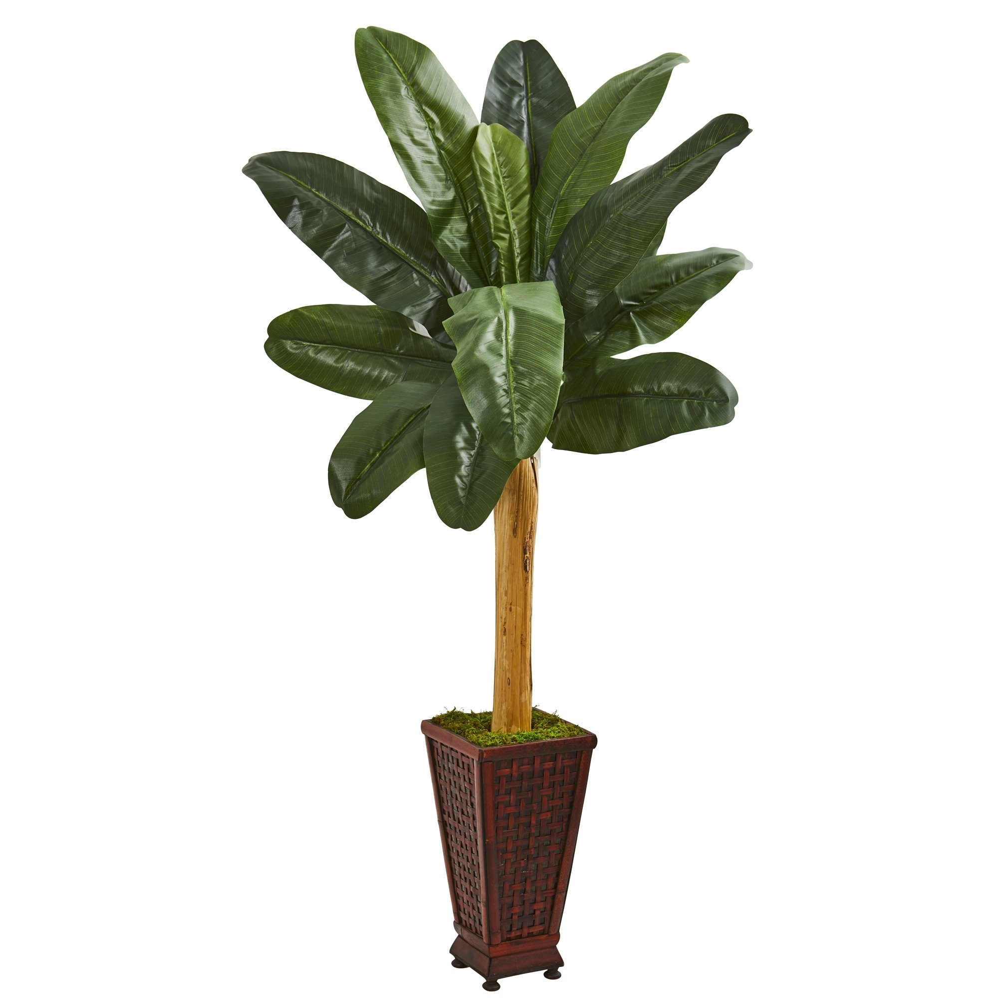 63 Banana Artificial Tree in Decorative Planter