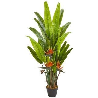 4.5' Bird of Paradise Artificial Plant