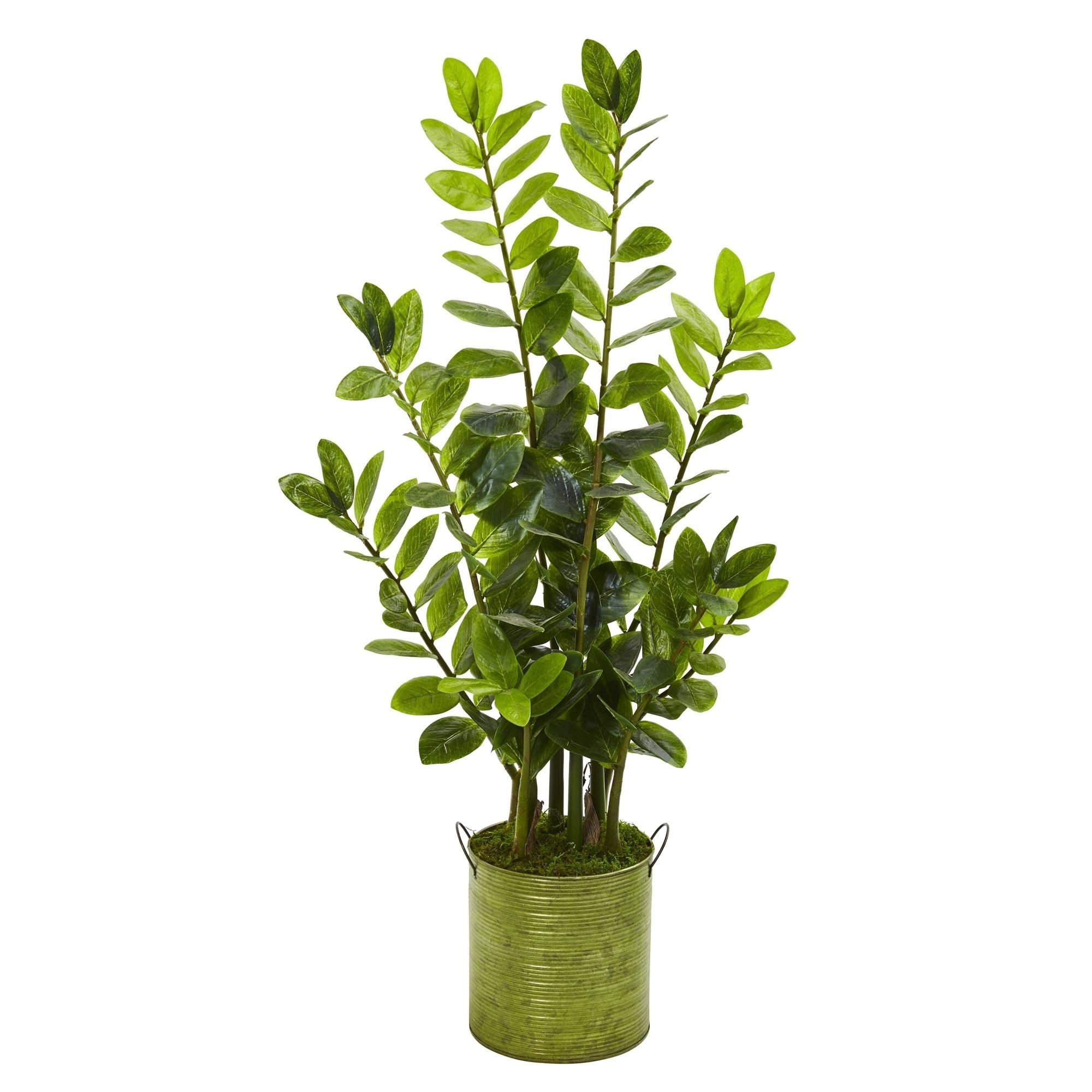 38 Zamioculcas Artificial Plant in Green Planter