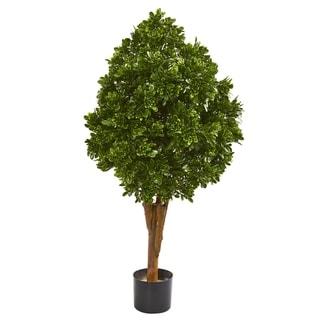 """41"""" Tea Leaf Artificial Tree UV Resistant (Indoor/Outdoor)"""