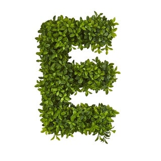 LOVE Boxwood Artificial Wall Decoration (Indoor/Outdoor)