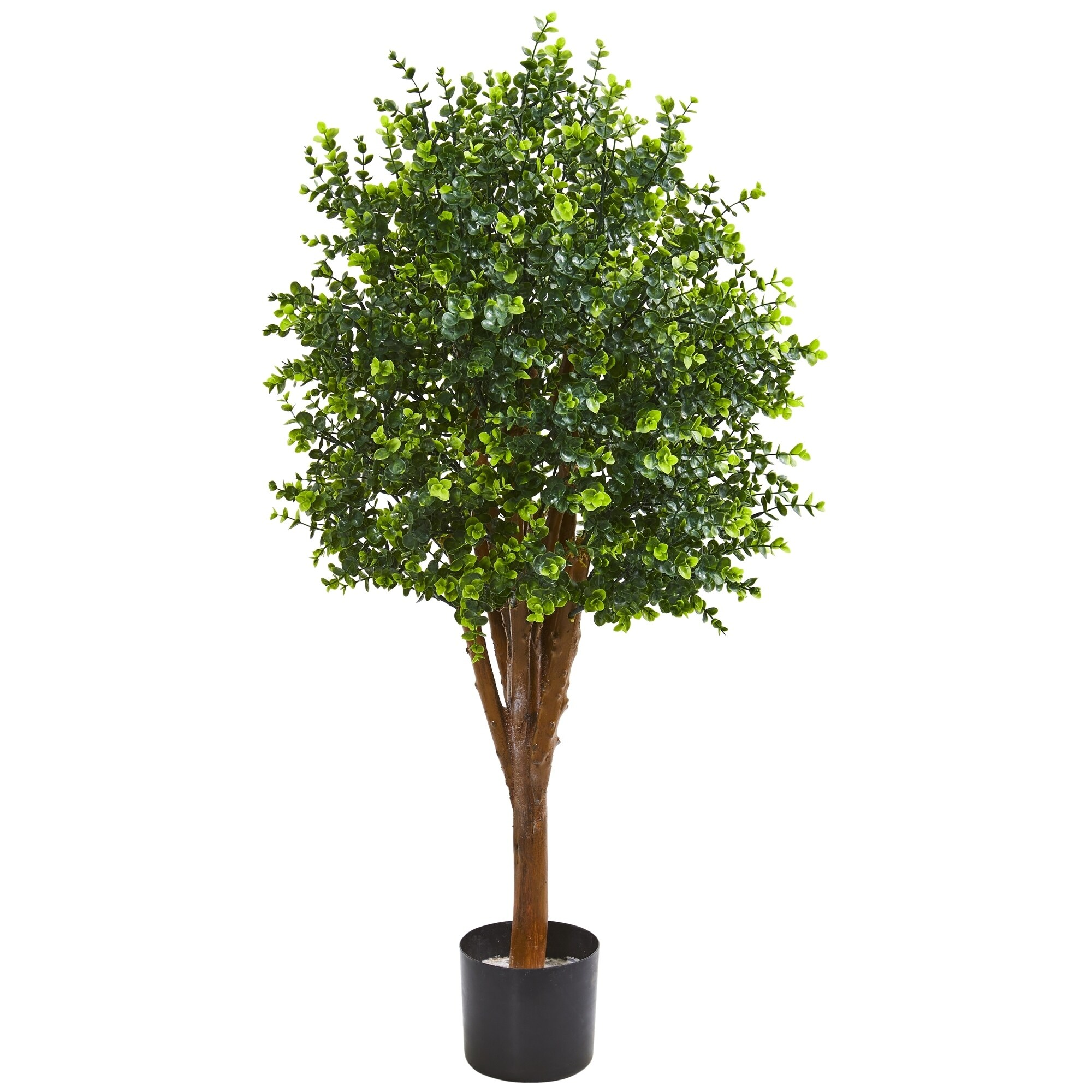 4 Eucalyptus Artificial Tree UV Resistant Indoor/Outdoor)