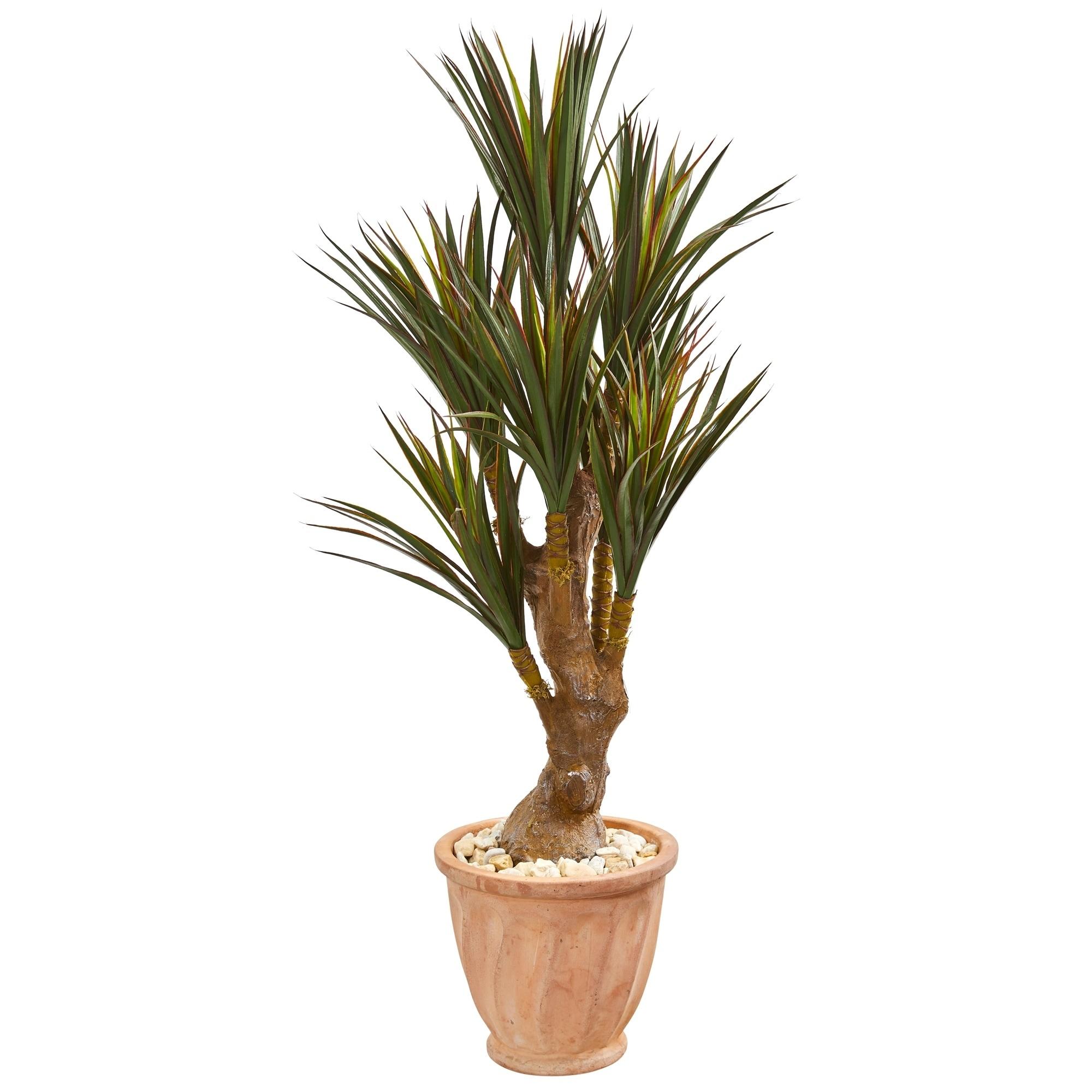 48 Yucca Artificial Tree in Planter UV Resistant (Indoor/Outdoor)