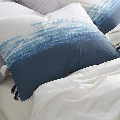 Ombre Twilight Standard Sham - Ocean Depths Teal (2-Pack)