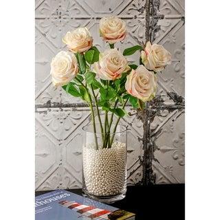 "Natural Touch Parfait Roses 22"" Long (Set of 6) - Blush"