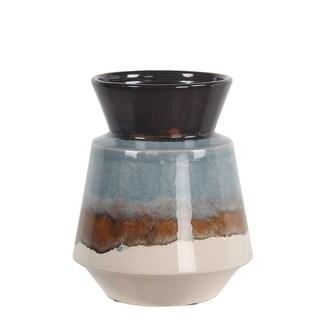 Privilege Small Blue Ceramic Vase