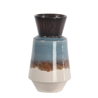 Privilege Large Blue Ceramic Vase