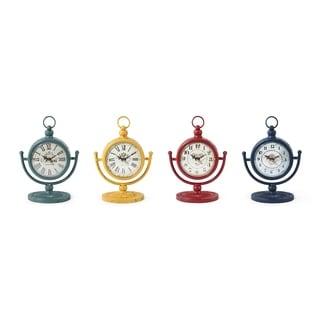 Bonney Table Clocks - Ast 4