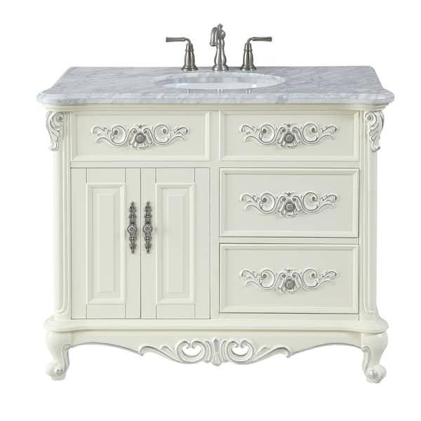 42 Benton Collection Verondia Antique Style Victorian Bathroom Vanity Overstock 27664851