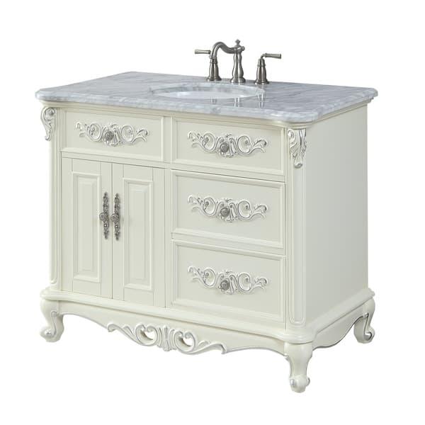 42 Benton Collection Verondia Antique Style Victorian Bathroom Vanity On Sale Overstock 27664851