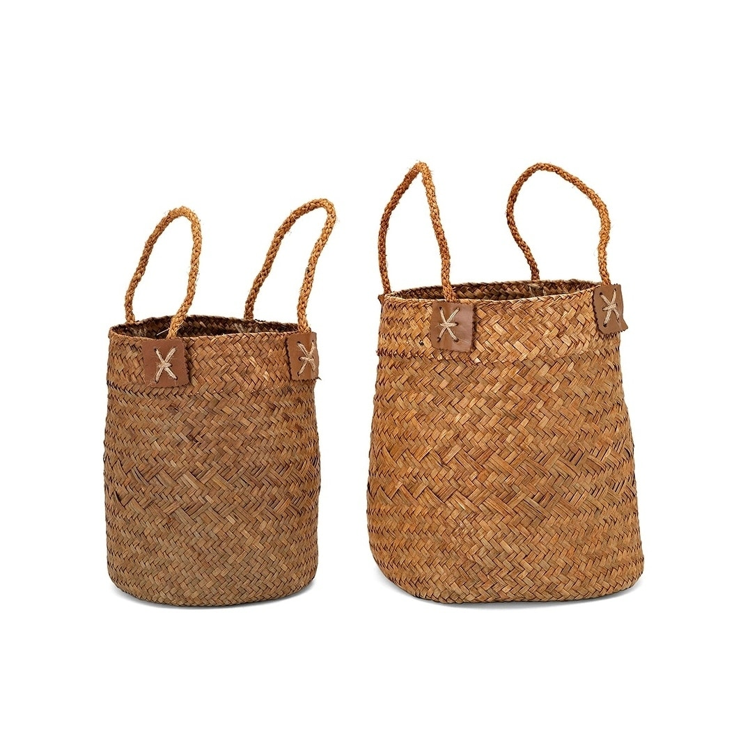 Capree Baskets with Handles - Set of 2