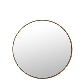 Carson Carrington Radehult Large Round Wall Mirror