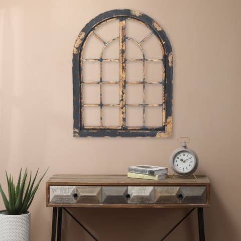 The Gray Barn Edmonton Wood Arched Window Wall Decor