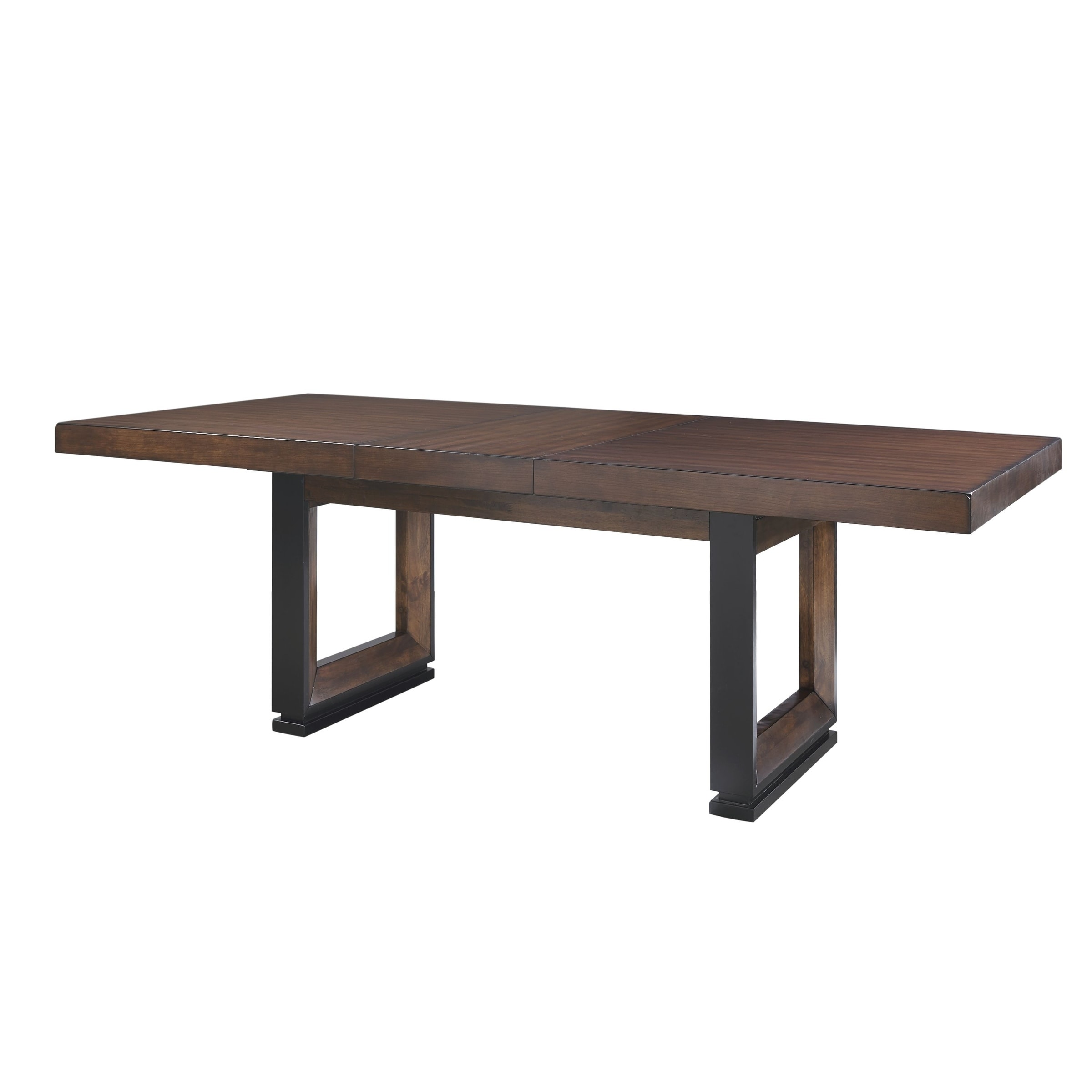Carbon Loft Deaton Modern Natural Cherry Wood Rectangle 90 Inch Dining Table