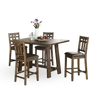Scott 60-inch Wood 5-Piece Counter Height Dining Set by Greyson Living