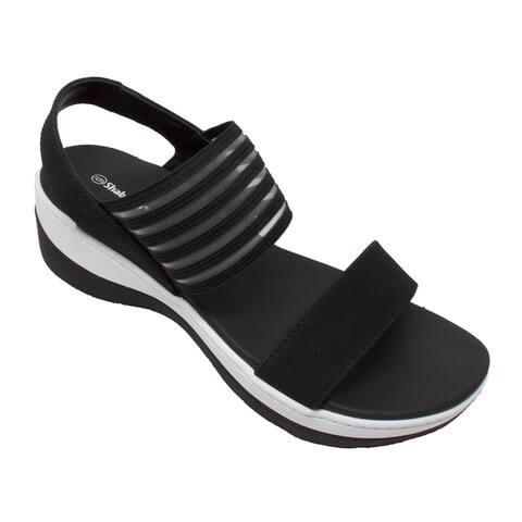 Women's Comfort Strap Sandals Black