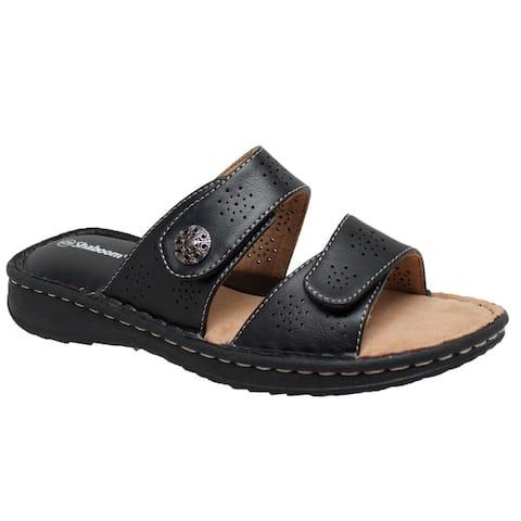 Women's Comfort Slide Sandals Black