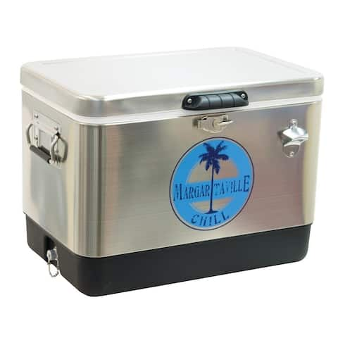 Margaritaville 54 Qt. Stainless Steel Cooler - Margaritaville Chill