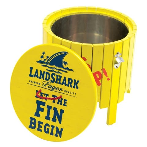 Margaritaville Landshark Beverage Cooler - Fins Up