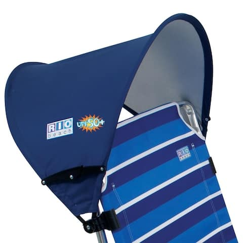 RIO Beach MyCanopy Personal Chair Shade - Blue