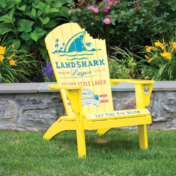 Prime Shop Margaritaville Adirondack Chair Landshark Lager Gmtry Best Dining Table And Chair Ideas Images Gmtryco