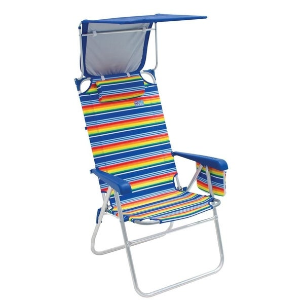 Shop RIO Beach Hi-Boy Beach Chair With Canopy