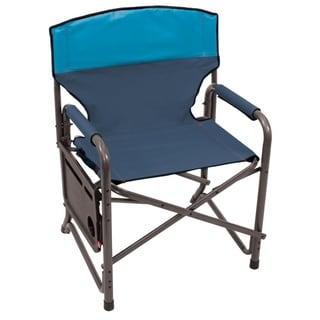 RIO Gear Broadback XXL Directors Chair - Blue Sky/Navy