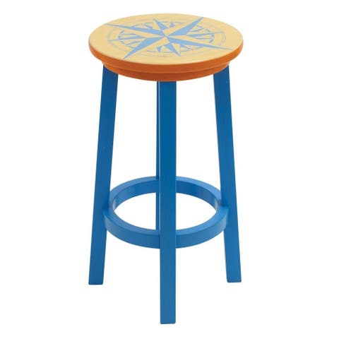 Margaritaville Bar Stool - Nautical Compass