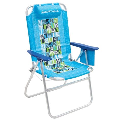 Margaritaville Big Shot Beach Chair - Turquoise