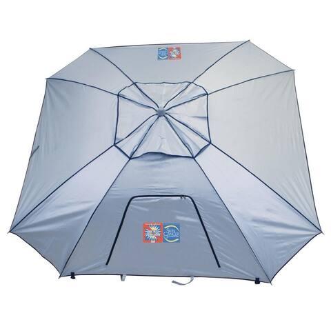 RIO Beach Total Sun Block ExtremeShade 8 ft. Beach Umbrella