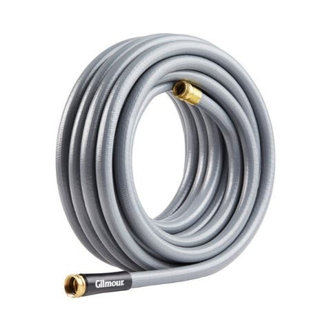 Gilmour 5/8 in. Dia. x 75 ft. L Heavy-Duty Gray Hose