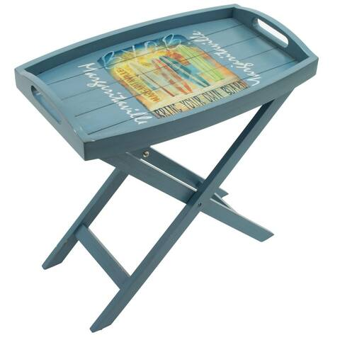 Margaritaville Folding Butler Table - Bring Your Own Board