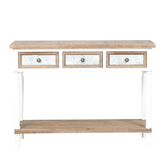 The Gray Barn Blackberry Brambles 3-drawer Wood Console Table