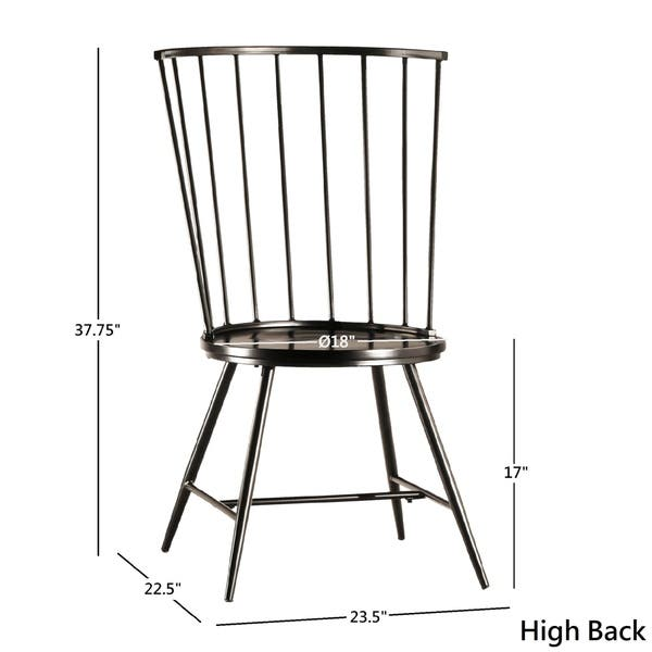 Surprising Shop Carson Carrington Vagby Walnut Finish Round Dining Short Links Chair Design For Home Short Linksinfo