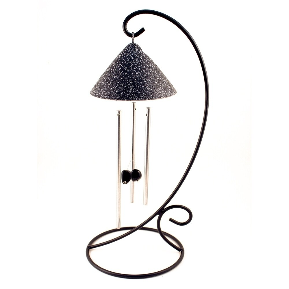 Slate Sprite Solar Powered Indoor Chimes (Multi-Color)