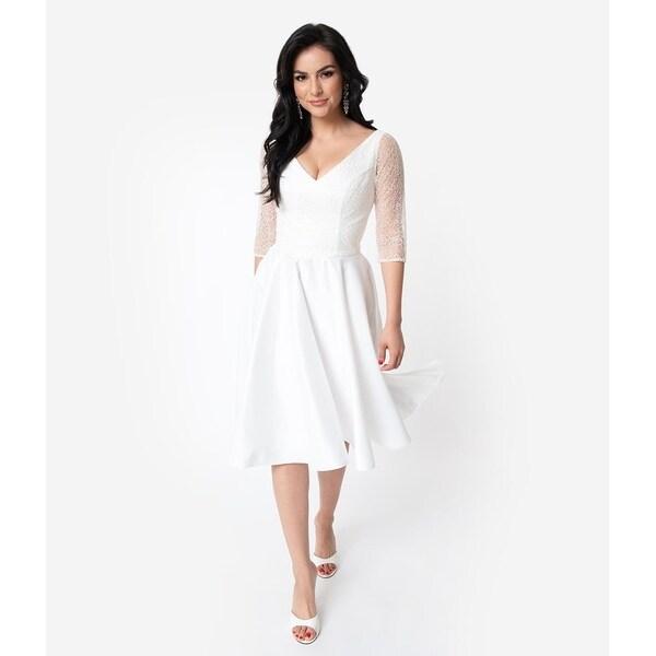 Shop Unique Vintage X Dolly Couture Juliette Bridal Dress