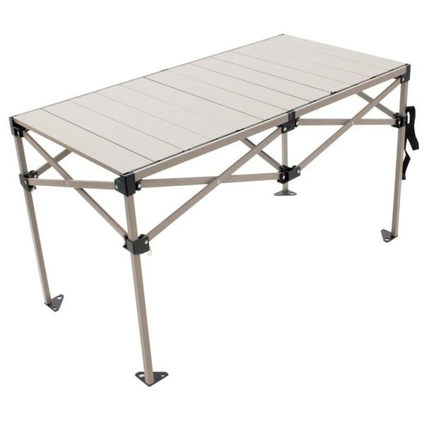 RIO Gear Aluminum Roll Top Table 48 x 25 in.