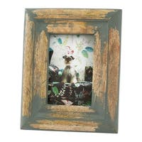 Saro Lifestyle Distressed Wood Design Photo Frame