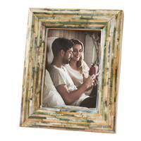 Saro Lifestyle Wood Fragment Picture Frame