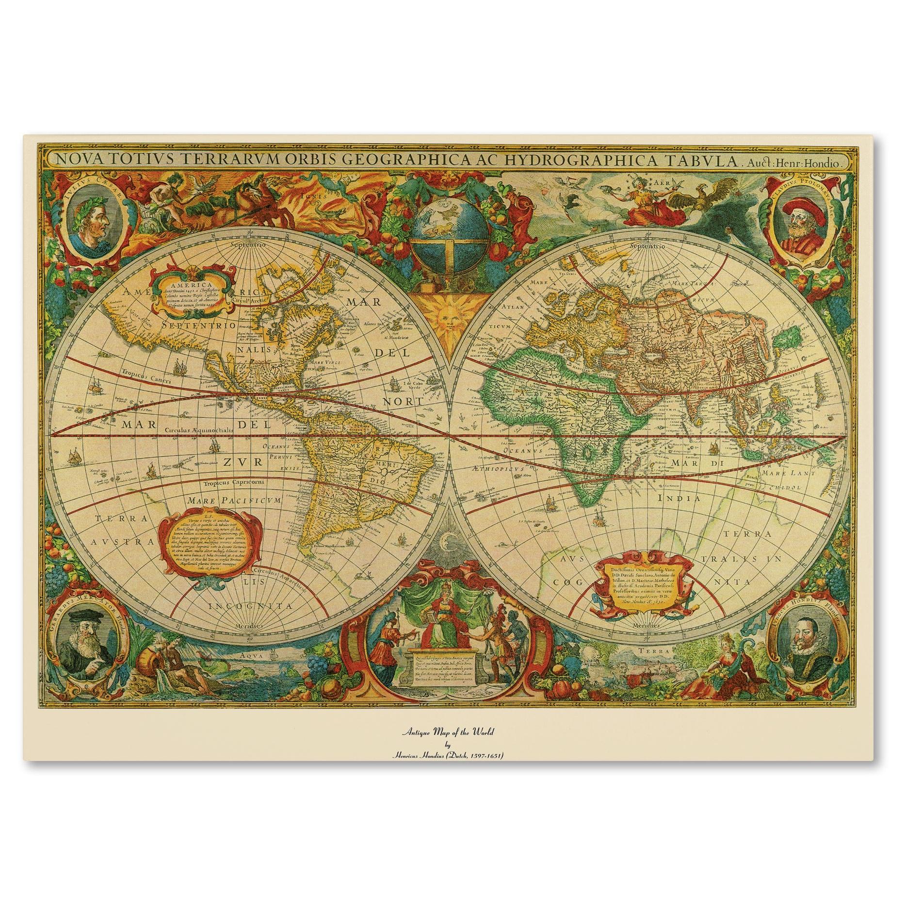 Map Art Gallery | Shop our Best Home Goods Deals Online at Overstock.com