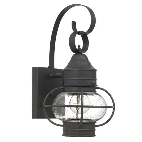 Havenside Home Imperial Aged Bronze 1-light Outdoor Wall Lantern