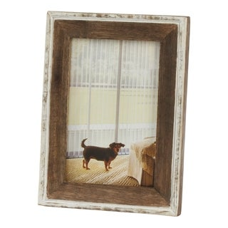Saro Lifestyle Distressed Wooden Design Picture Frame
