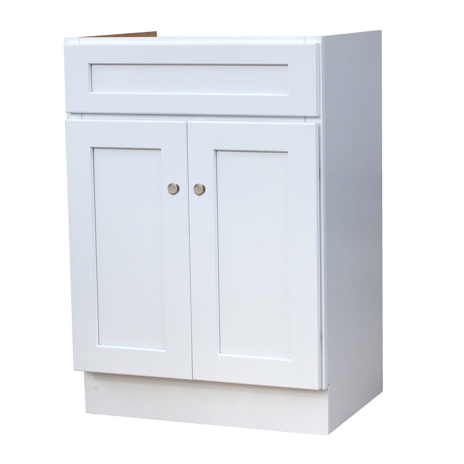 24x18 White Shaker Bathroom Vanity