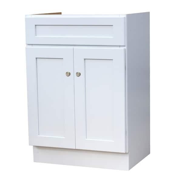 24x18 White Shaker Bathroom Vanity Overstock 27678251
