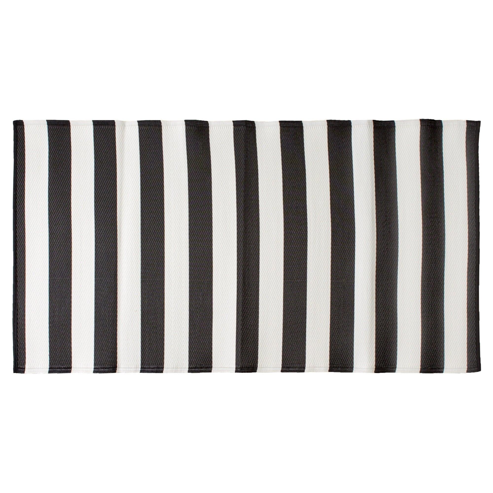 Shop Dii Striped Outdoor Floor Runner Overstock 27678419