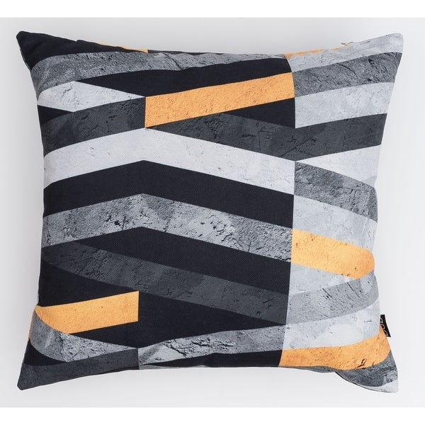 Marble Stripes Modern Pillow