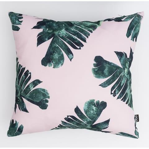 Bright Greenery Modern Pillow
