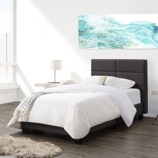 Copper Grove Rubizhne Twin Upholstered Panel Bed and Frame