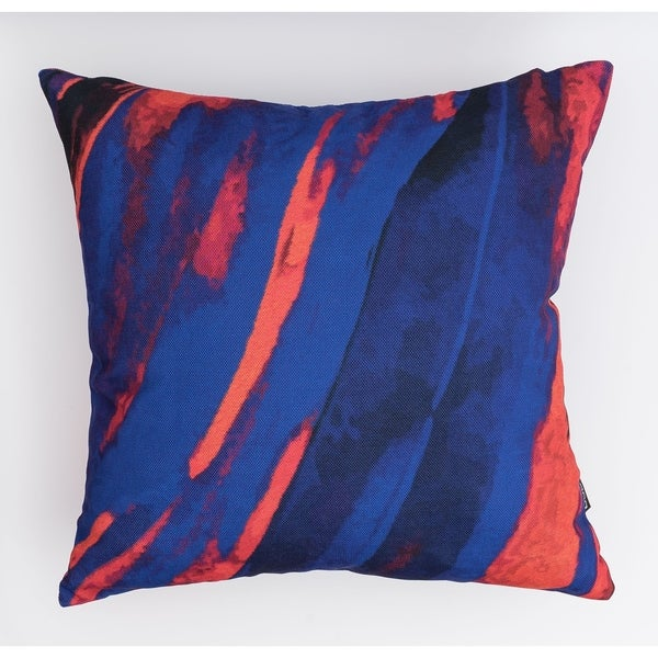 Dark Abstract Modern Pillow