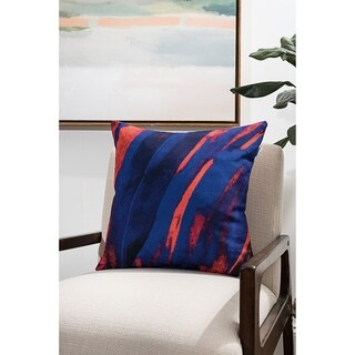 Dark Abstract Modern Pillow (Accent - 18 x 18 - Polyester)